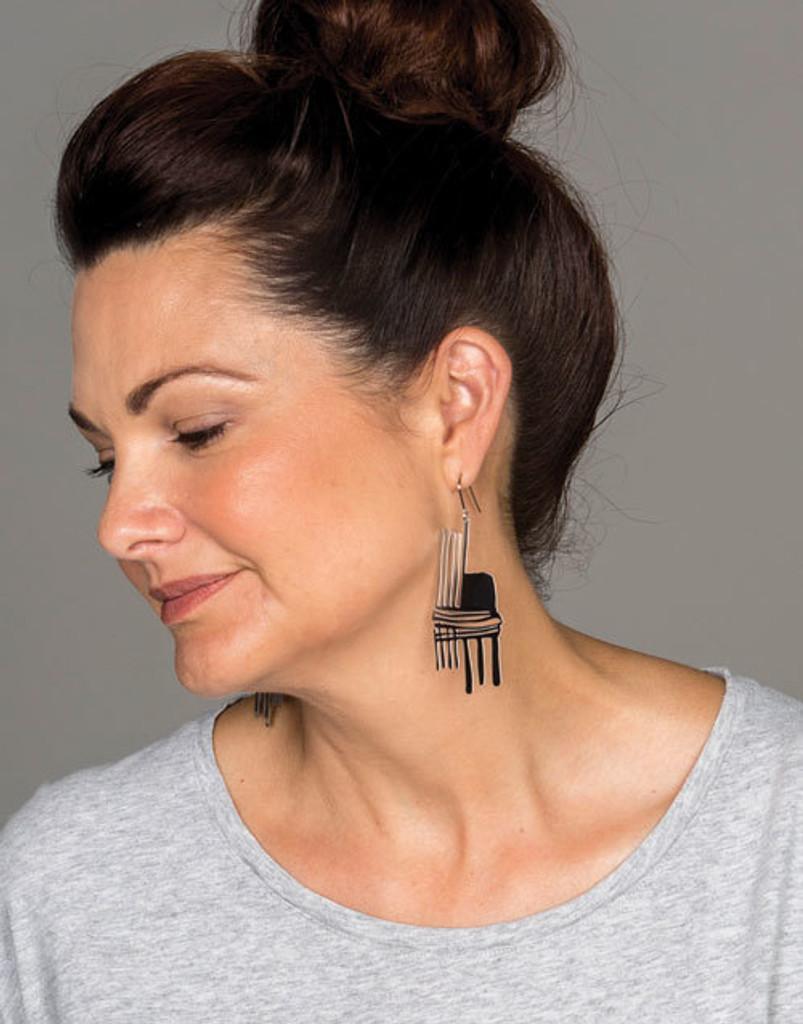 Paint Drip Earrings