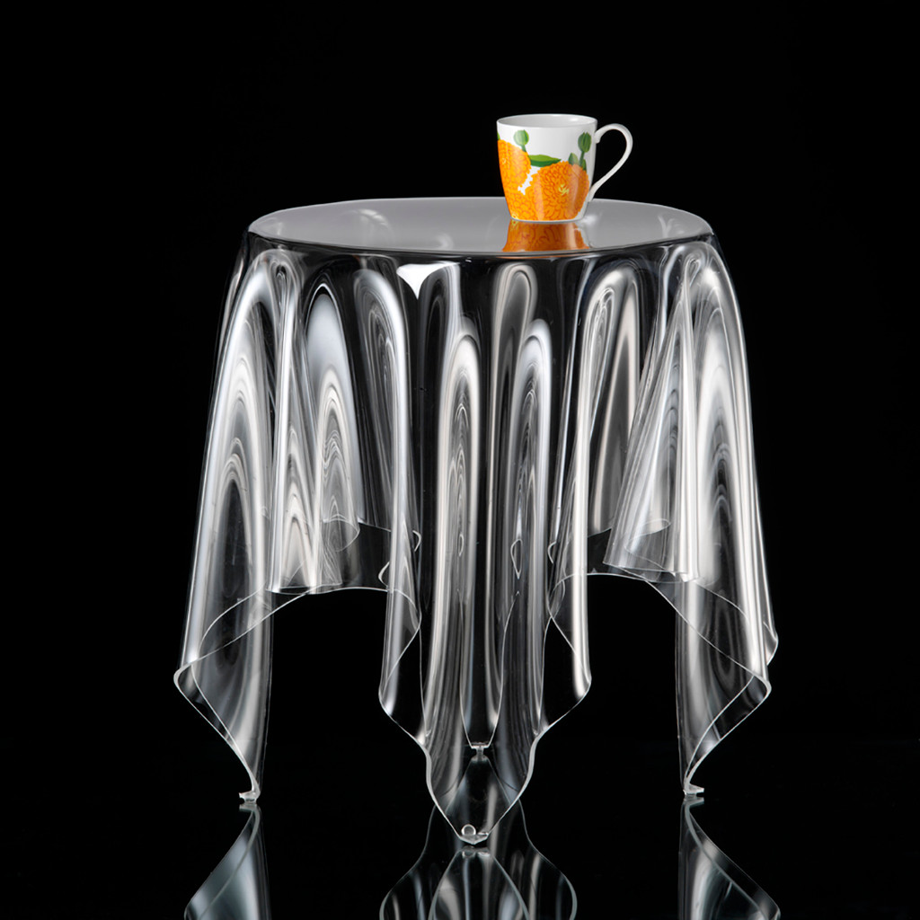 Illusion Grand Clear Side Table