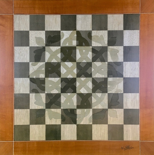 Chessboard #140 - Celtic Knot