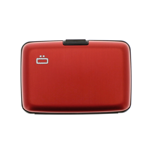 Case Red RFID Safe Wallet