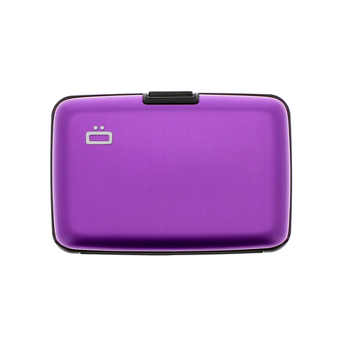 Case Purple RFID Safe Wallet