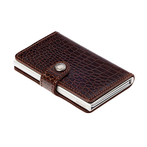 RFID Safe Miniwallet - Brown Amazon