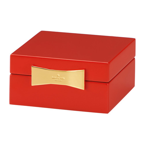 Garden Drive - Red Jewellery Box Square