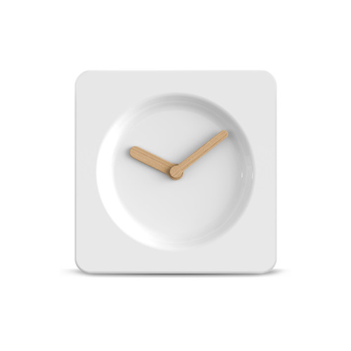 Leff Tile 25 Ceramic Clock