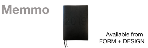 2019 Diary - MEMMO Brand now available!