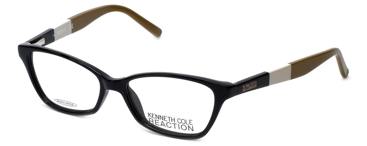 ab13388088e Kenneth Cole Reaction Designer Eyeglasses KC0766-001 in Black    Custom  Left   Right