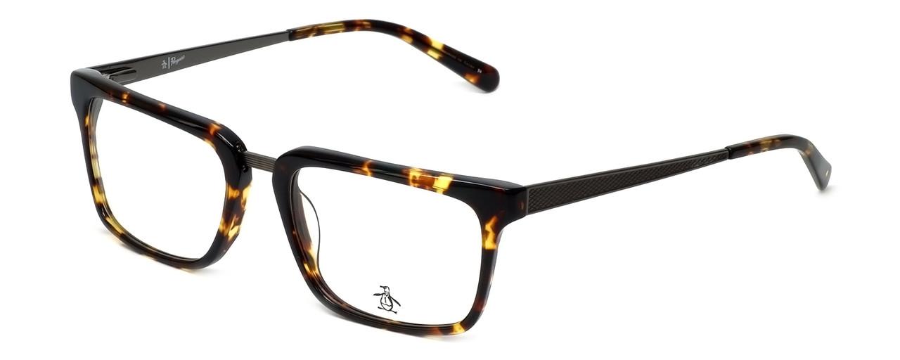 6d4673f9f3f2 Original Penguin Designer Eyeglasses The Stanford in Tortoise 55mm     Custom Left   Right Lens