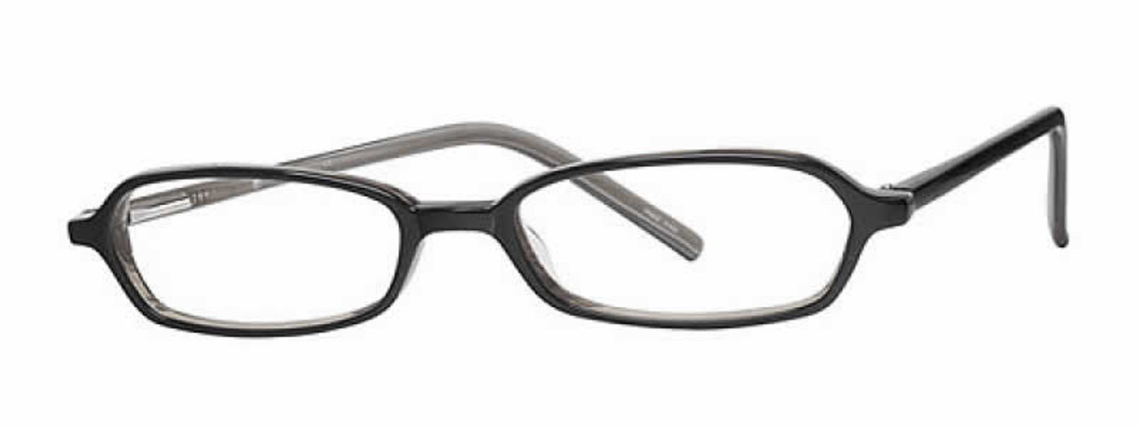 90f63330f6a Calabria Viv 721 Black Grey Designer Eyeglasses    Rx Single Vision ...