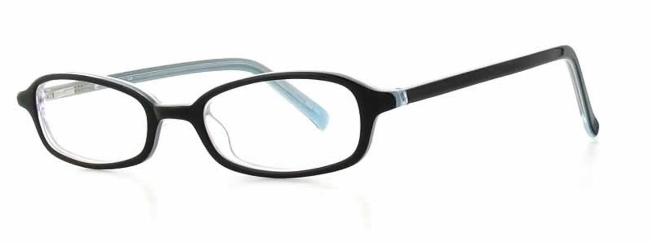 19a1fc10c24 Calabria Viv 739 Black Blue Designer Eyeglasses    Rx Single Vision ...