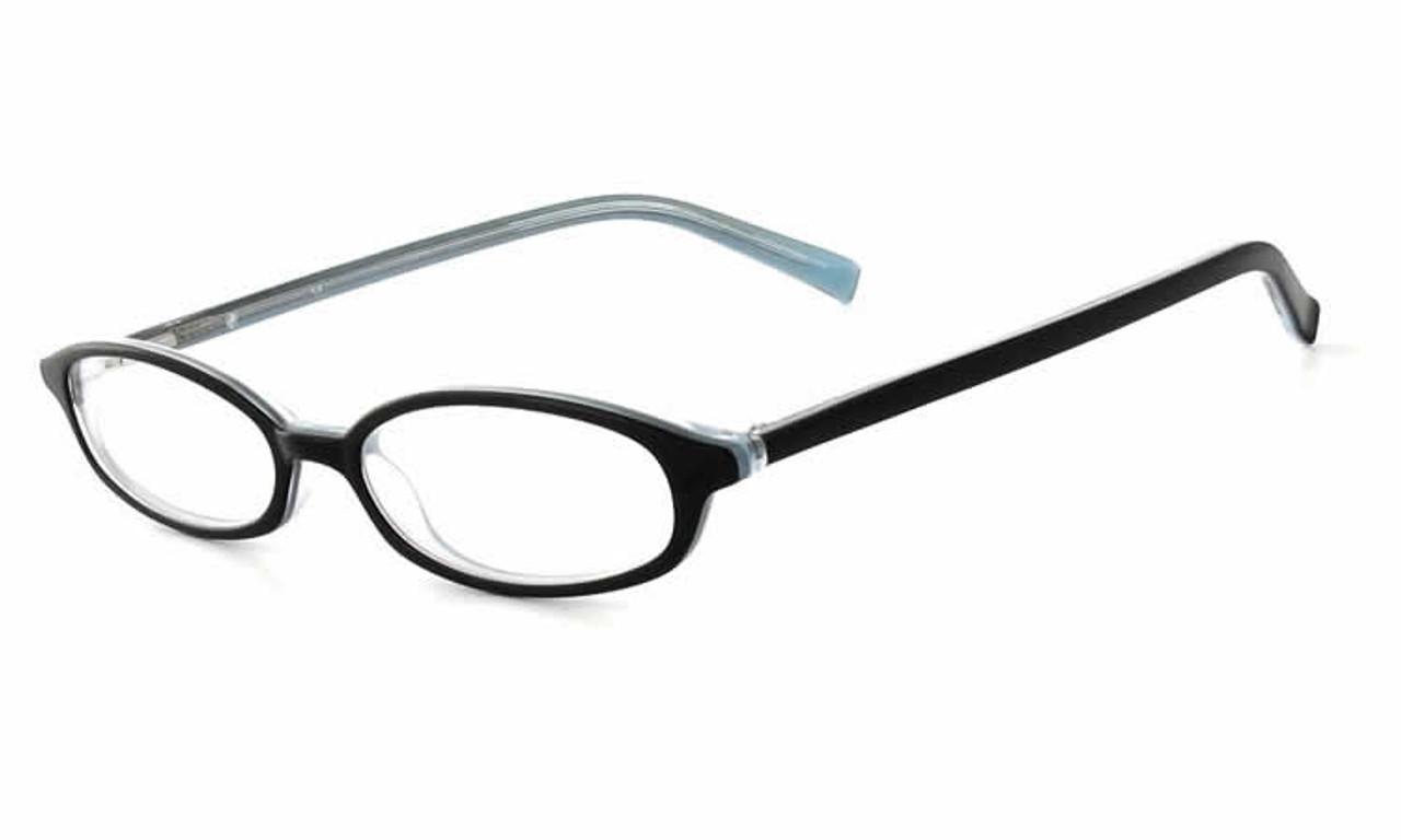 8da4205371f Calabria Viv 750 Black Blue Designer Eyeglasses    Rx Single Vision ...