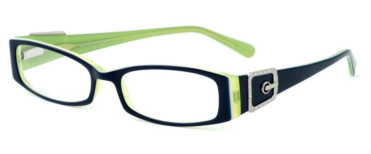 a22bad1158a1 Calabria Designer Eyeglasses 814 Indigo    Progressive - Speert ...
