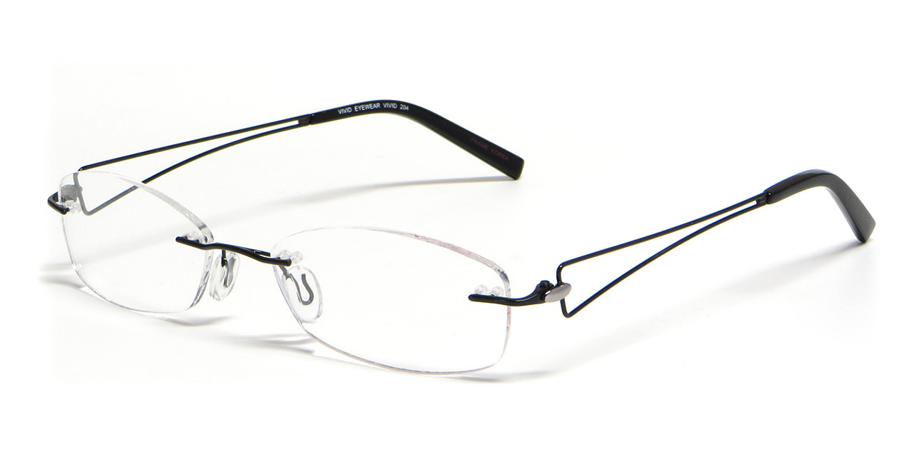 9ddcc60ef3c Calabria Viv Designer Reading Glasses 204 in Black - Speert ...
