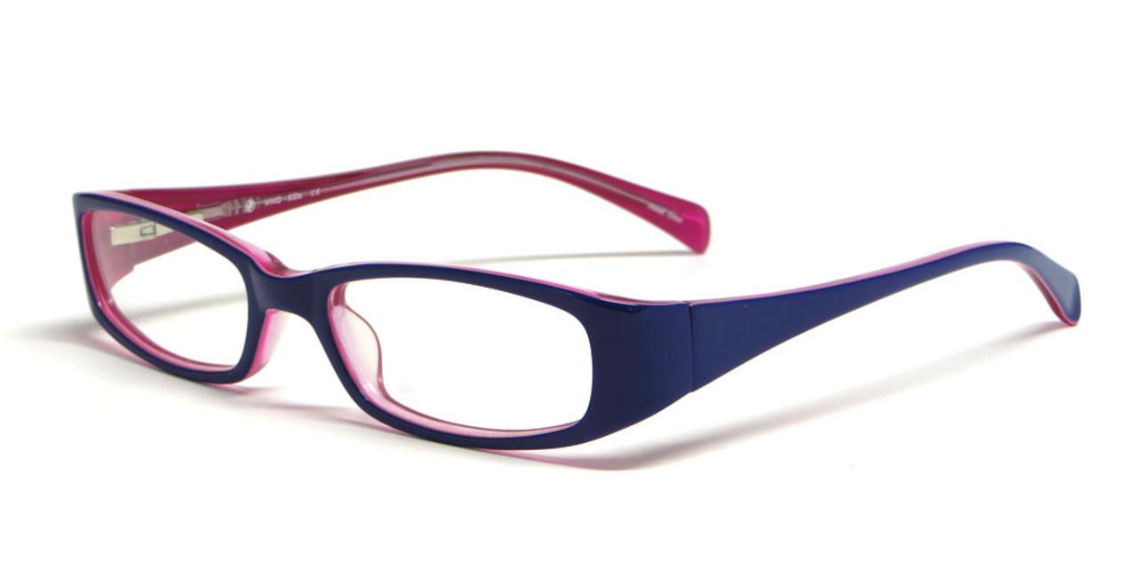 a2b8948e402 Calabria Viv Kids 119 Designer Eyeglasses in Purple-Pink    Rx Bi-Focal