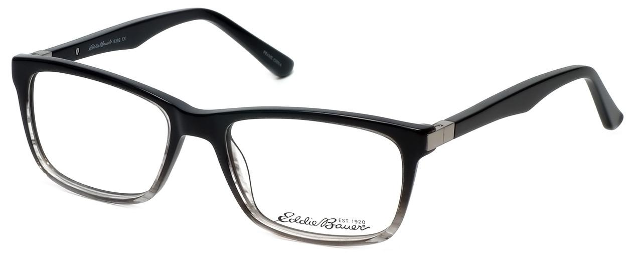 622ad15b08bf Eddie Bauer Designer Eyeglasses EB8392-Black-Fade in Black-Fade 53mm ...