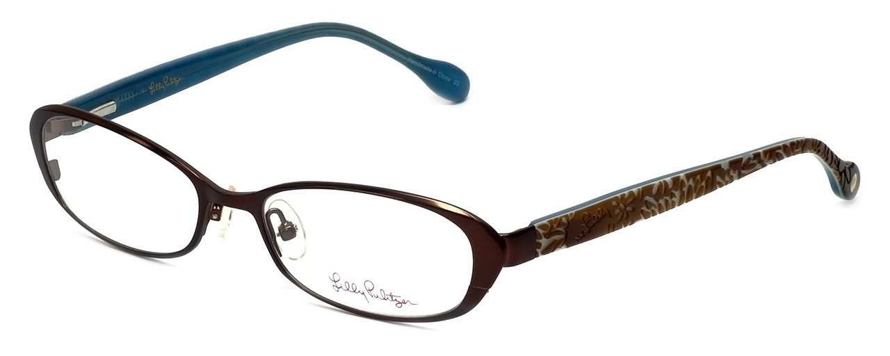 f07074eaab1 Lilly Pulitzer Designer Reading Glasses Callahan in Brown 50mm ...