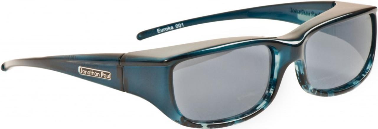 45e134302233 Jonathan Paul® Fitovers Eyewear Small Euroka in Blue-Ebony   Gray EU001