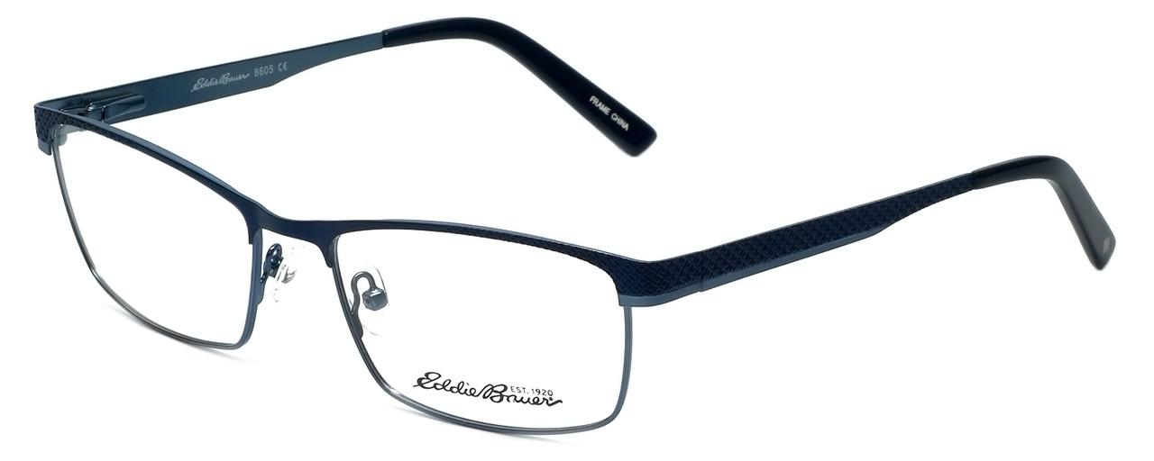 Eddie-Bauer Designer Eyeglasses EB8605 in Blue 54mm :: Progressive ...