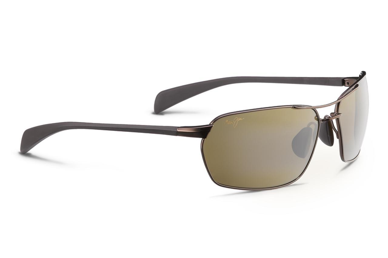 c8046f971c Maui Jim MALIKO GULCH Metallic Gloss Copper Polarized Bi-Focal Sunglasses