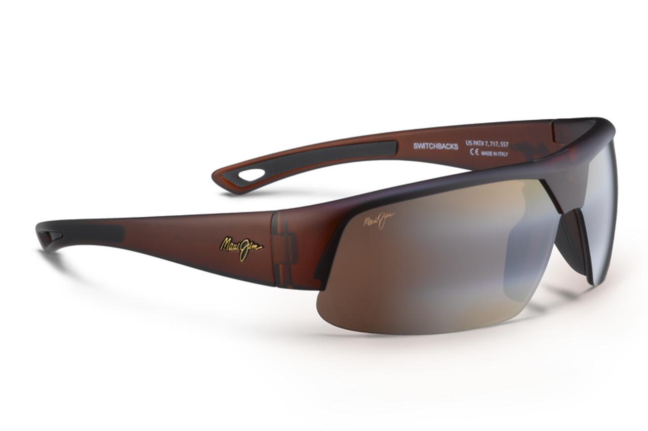 0d15b78a4ff Maui Jim SWITCHBACKS Matte Rootbeer   HCL® Bronze Polarized Sunglasses