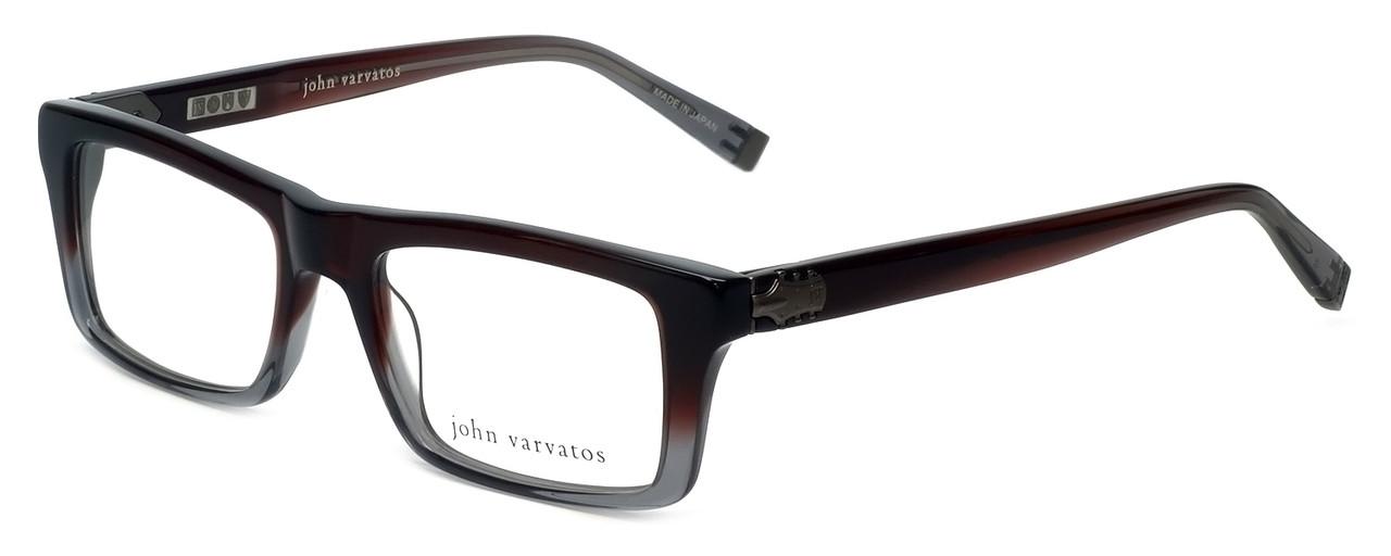 John Varvatos Designer Reading Glasses V346 in Mahogany 52mm ...