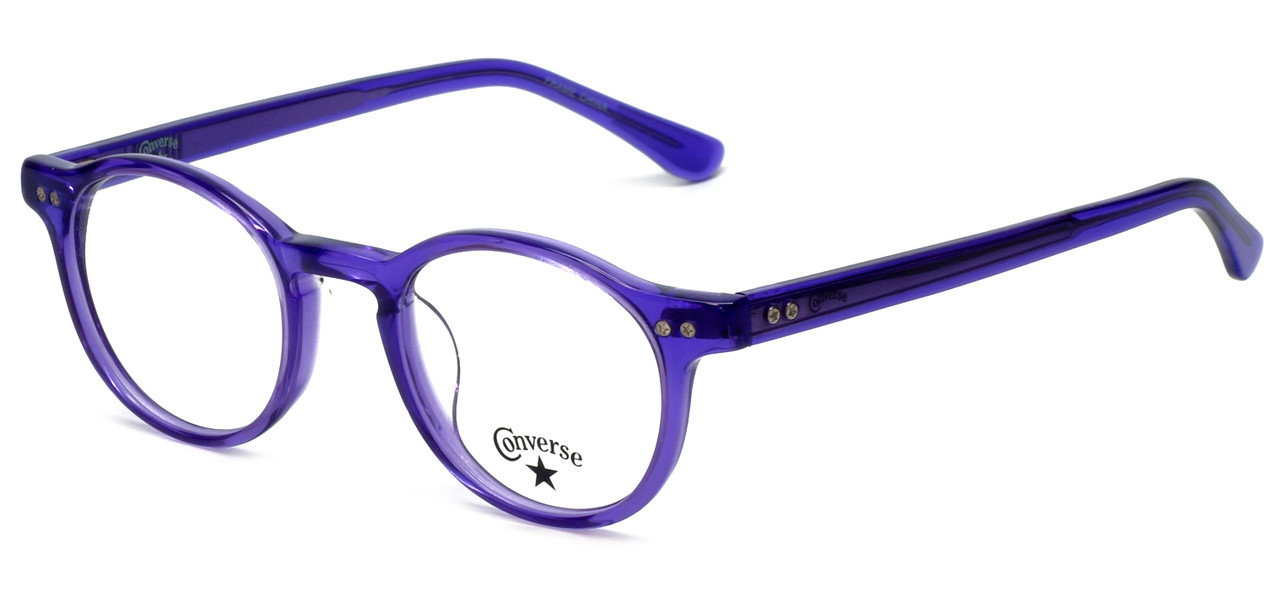 5f8a8beb859 Converse Designer Eyeglasses Z002UF in Purple 45mm    Custom Left   Right  Lens