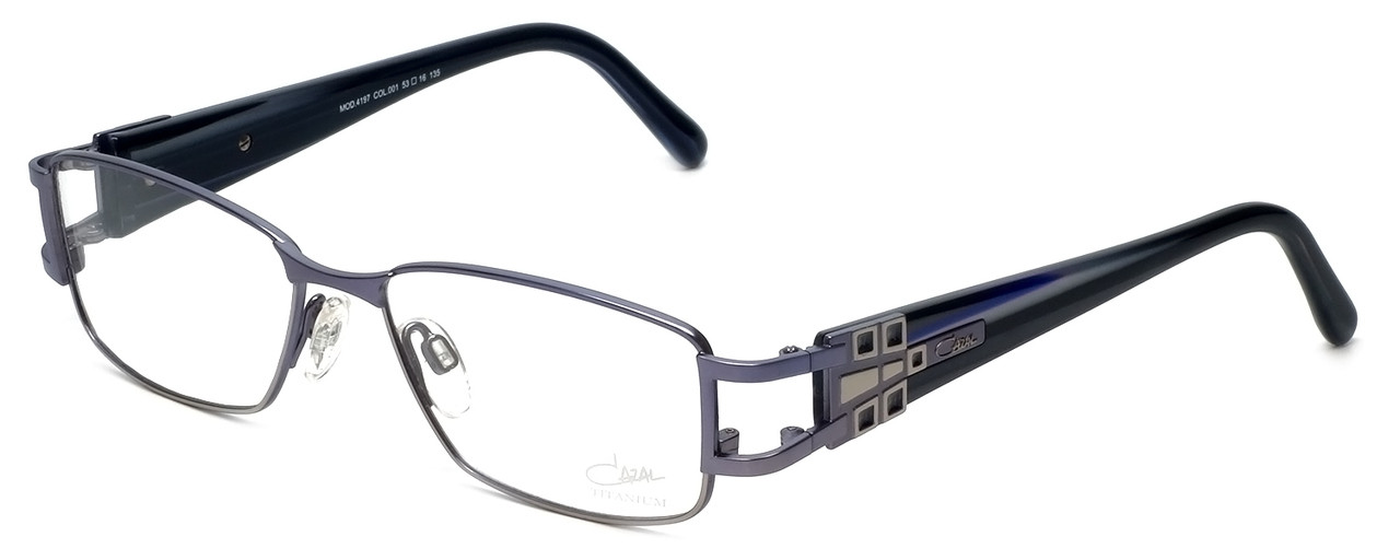 Cazal Designer Eyeglasses 4197-001 in Lilac 53mm :: Rx Single Vision