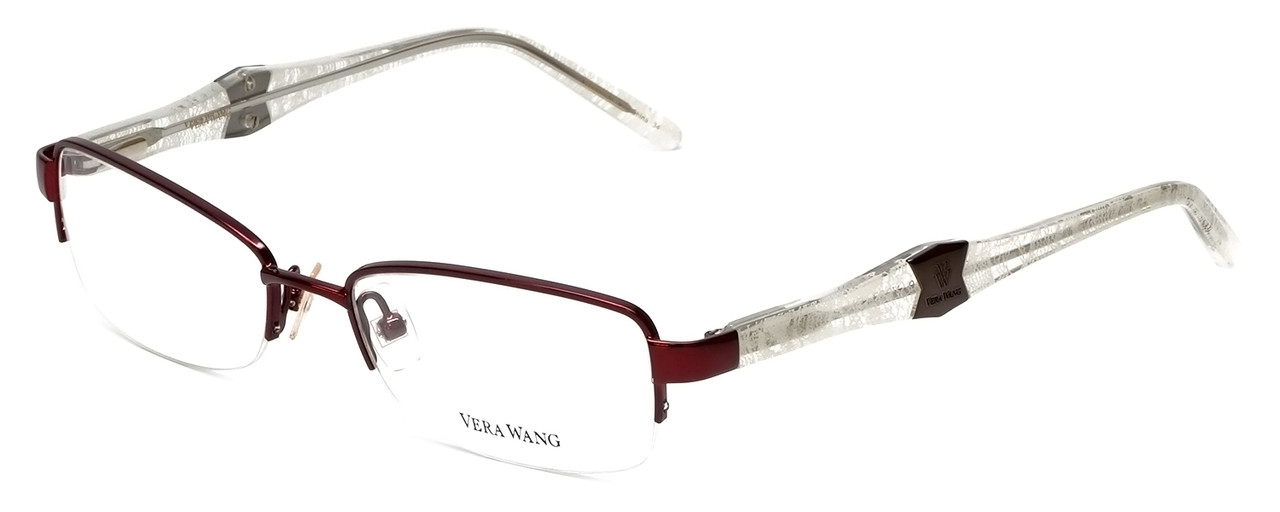 3c3cb2d5fde Vera Wang Designer Reading Glasses V327 in Burgundy 50mm - Speert ...