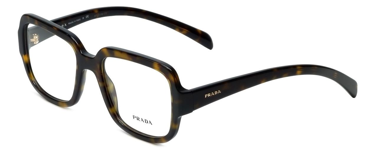 c853dc3b0cf56 Prada Designer Eyeglasses VPR15R-2AU1O1 in Tortoise 53mm    Custom Left    Right Lens
