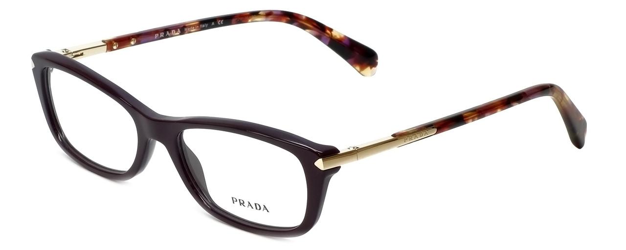 bb92004c9c47c ... gradient sunglasses 98ee6 3b83b  discount prada designer reading  glasses vpr04p rom1o1 in burgundy 52mm 33a25 59113