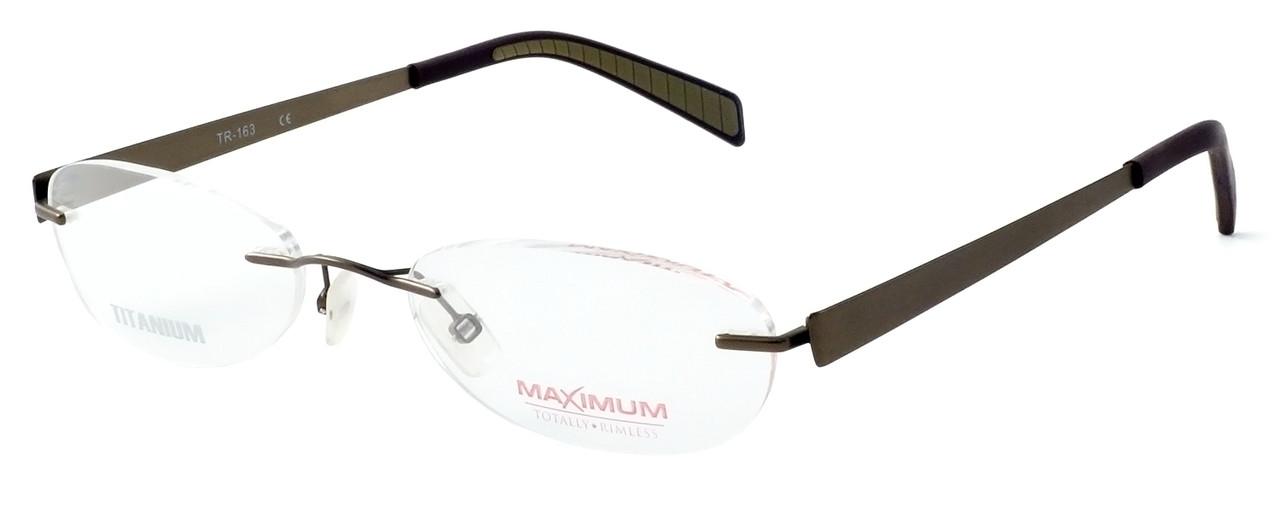 fe72e3f2fdf0 Totally Rimless Designer Reading Glasses TR163-BRN in Brown - Speert ...