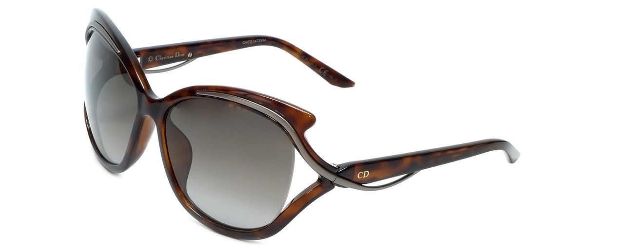 0fdc256713 Christian Dior Designer Sunglasses Audacieuse2 9OJ in Havana with Brown  Gradient Lens