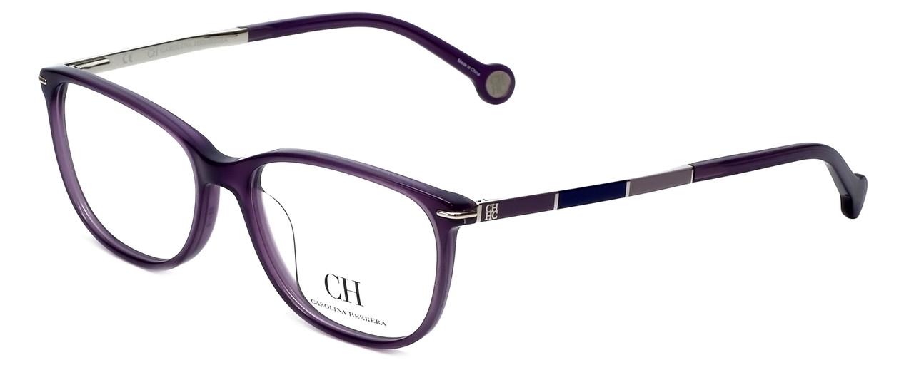 b862d5a8fb40 Carolina Herrera Designer Reading Glasses VHE670K-0903 in Purple 53mm
