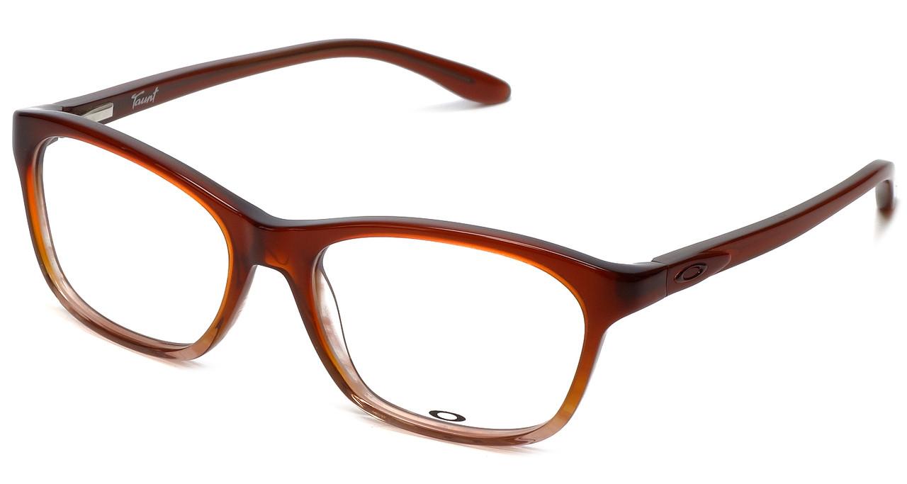 cacb54ab803b Oakley Designer Eyeglasses Taunt OX1091-0452 in Brown-Fade 52mm     Progressive