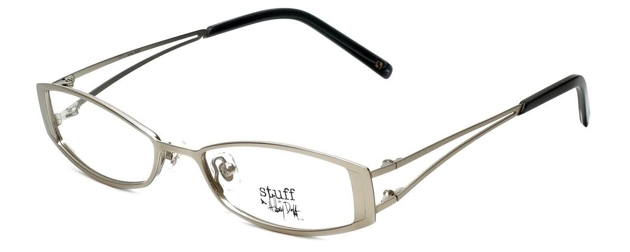 2320632072b Hilary Duff 121082 Designer Eyeglasses in Silver    Rx Bi-Focal ...