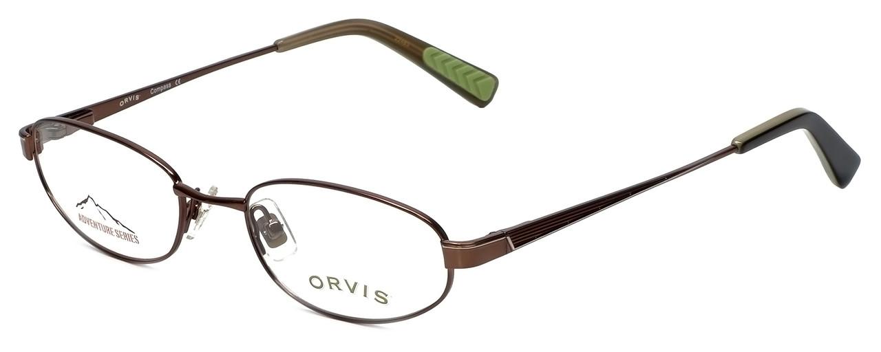 7bb7c06333 Orvis Designer Reading Glasses Compass in Brown 49mm - Speert ...