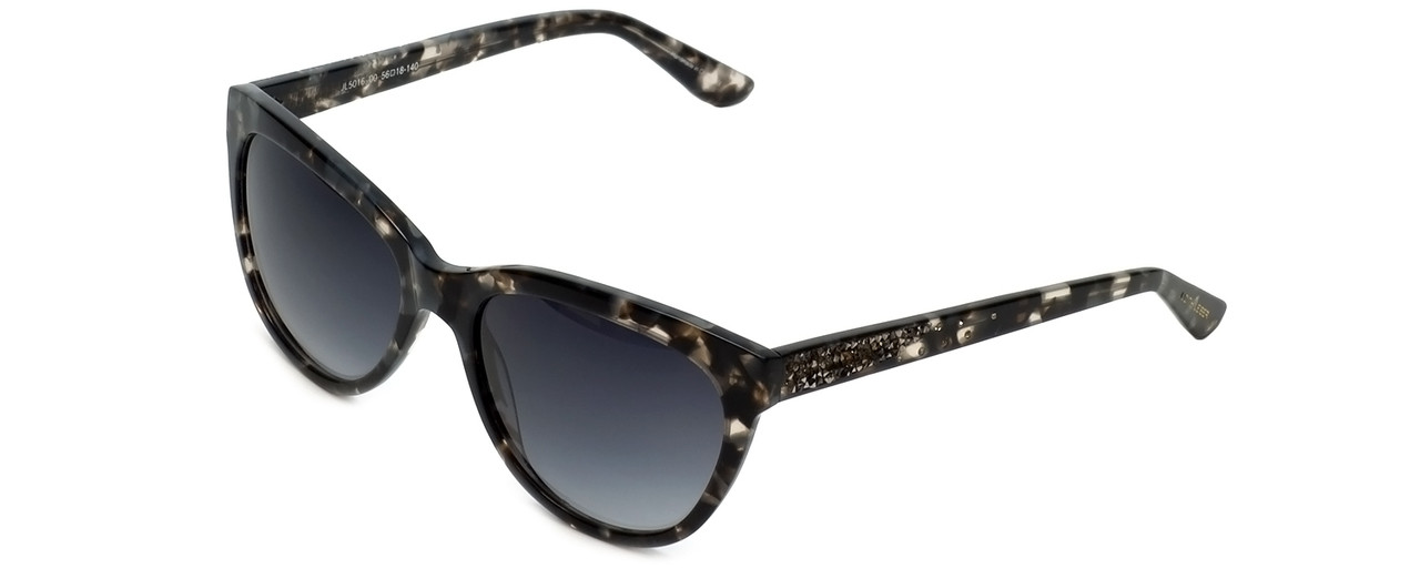 756c37da37f Judith Leiber Designer Reading Glasses JL5016-00 in Grey-Tortoise in Grey -Gradient