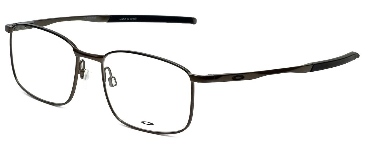 Oakley Designer Eyeglasses Taproom OX3204-0153 in Pewter 53mm :: Rx ...