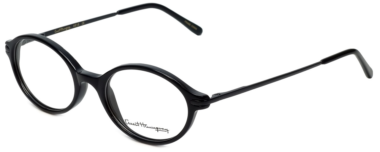 50b502e466 Ernest Hemingway Designer Reading Glasses H4618 in Black 46mm ...