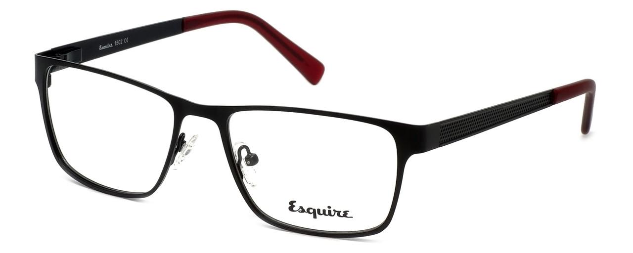 93ef450f51 Esquire Designer Reading Glasses EQ1502 in Satin-Black 54mm - Speert ...