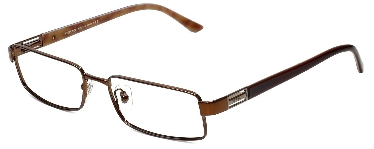 0064d64217b Versace Designer Eyeglasses 1120-1061 in Brown 52mm    Custom Left   Right  Lens