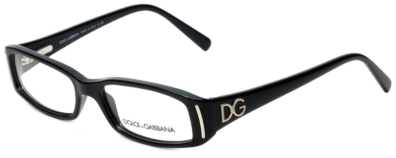 Dolce & Gabbana Designer Eyeglasses DG3043-501-48 in Black 48mm ...