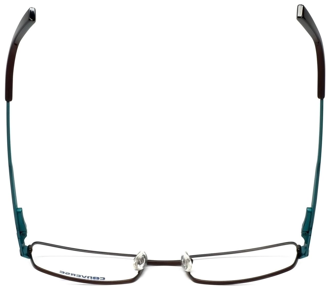 Converse Designer Eyeglasses Envision-Brown in Brown and Blue 53mm ...