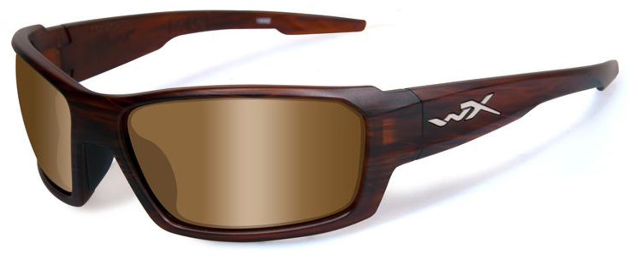 5eb9a43a027 Wiley X Rebel in Layered Tortoise   Polarized Bronze - Speert ...
