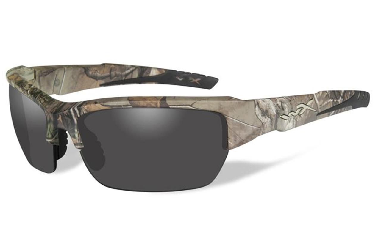 Wiley-X High Performance Eyewear Valor Sunglasses in Real-Tree Camo ...
