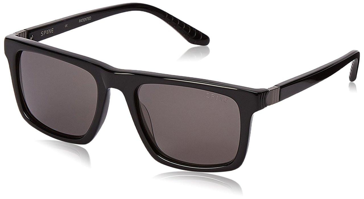 Spine Damen Sonnenbrille Schwarz Black/Havana/Grey Lens uGWCux