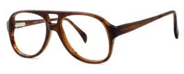 Fashion Optical Designer Eyeglasses Big Boy in Demi Amber 50mm :: Custom Left & Right Lens
