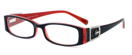 Calabria Designer Eyeglasses 814 Ebony :: Rx Single Vision