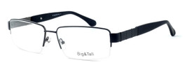 """Calabria Optical Designer Eyeglasses """"Big And Tall"""" Style 11 in Black :: Rx Single Vision"""