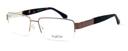 "Calabria Optical Designer Eyeglasses ""Big And Tall"" Style 11 in Brown :: Rx Single Vision"