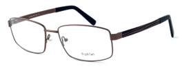 "Calabria Optical Designer Eyeglasses ""Big And Tall"" Style 12 in Brown :: Rx Single Vision"
